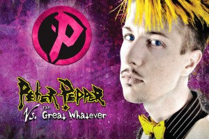 Peter Pepper Vs. The Great Whatever album artwork
