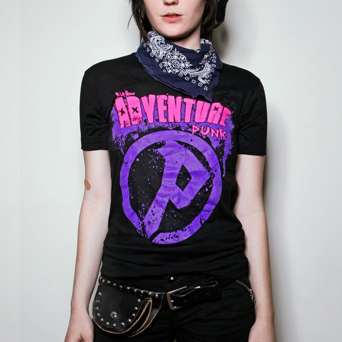 Peter Pepper AdventurePunk shirt model